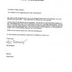Mic Rodgers Stunt Coordinator Testimonial