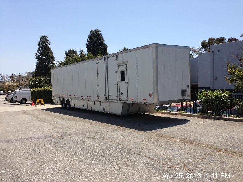 Stunt Equipment Trailer
