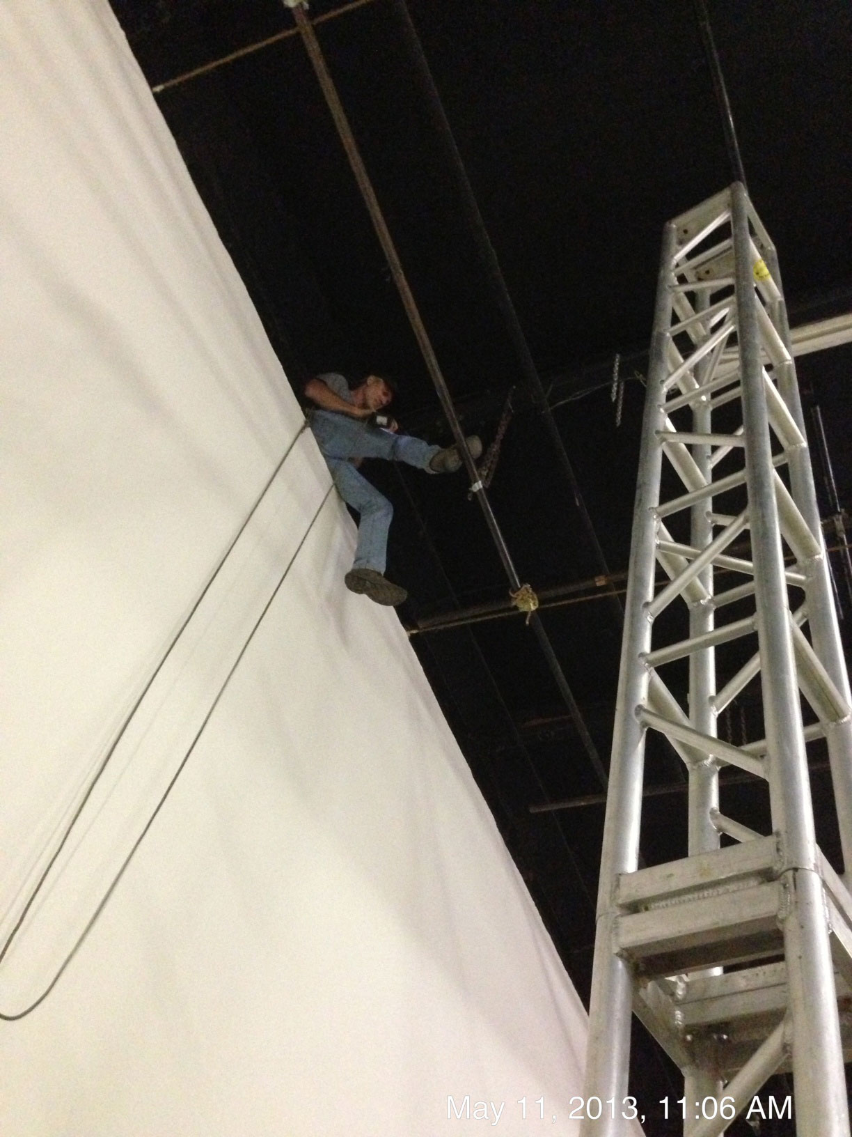 Stunt riggers